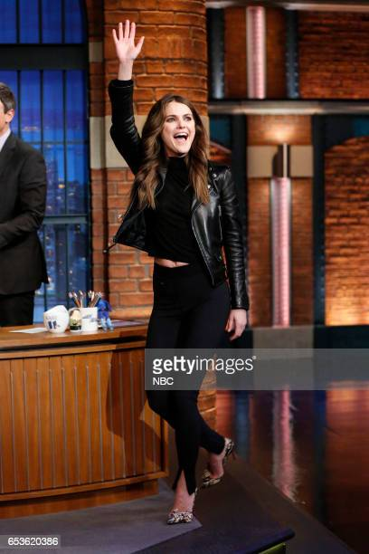Actress Keri Russell arrives on March 15 2017