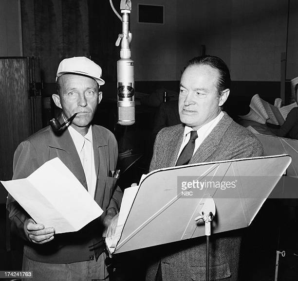 Bing Crosby host Bob Hope