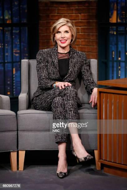 Actress Christine Baranski on March 30 2017