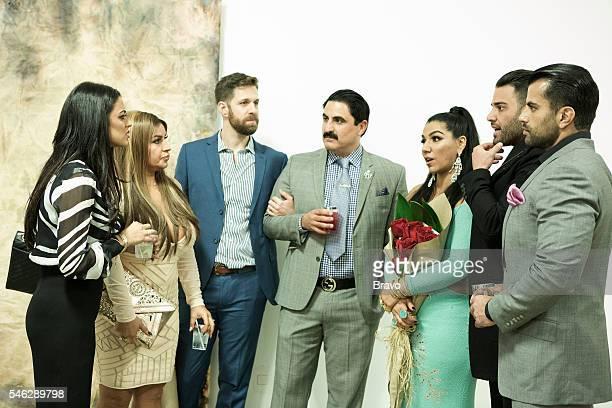 SUNSET 'OMGG' Episode 515 Pictured Golnesa 'GG' Gharachedaghi Mercedes 'MJ' Javid Adam Neely Reza Farahan Asa Soltan Rahmati Mike Shouhed Shervin...
