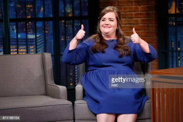 Comedian Aidy Bryant during an interview on April 27 2017