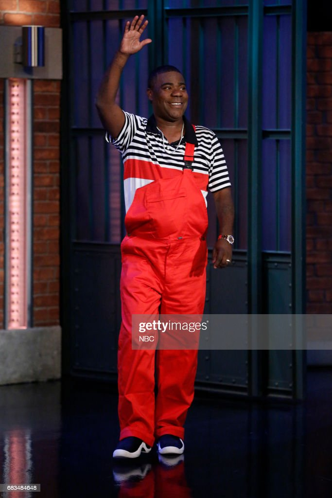 Comedian Tracy Morgan arrives on May 15, 2017 --