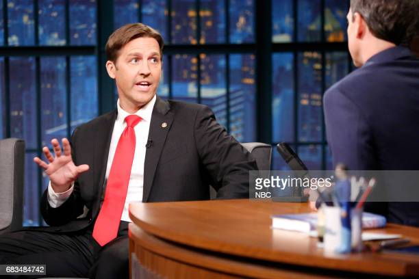 Senator Ben Sasse during an interview with host Seth Meyers on May 15 2017