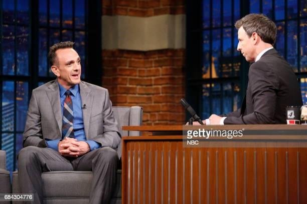 Actor Hank Azaria during an interview with host Seth Meyers on May 17 2017