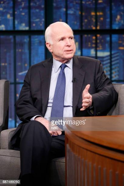 Senator John McCain on May 23 2017