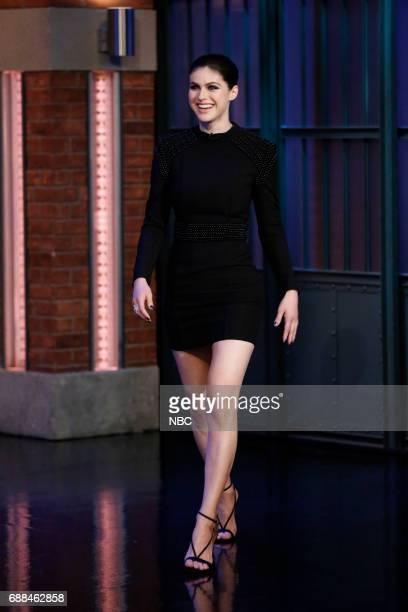 Actress Alexandra Daddario arrives on May 25 2017