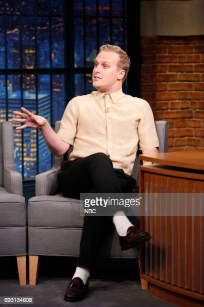 Actor John Early during an interview on June 6 2017
