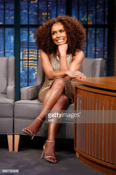 Author Janet Mock during an interview on June 13 2017