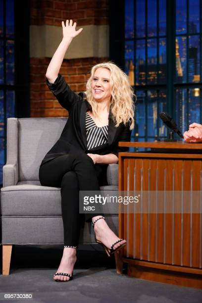 Comedian/actress Kate McKinnon during an interview on June 13 2017