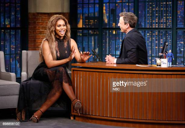 Actress Laverne Cox during an interview on June 20 2017