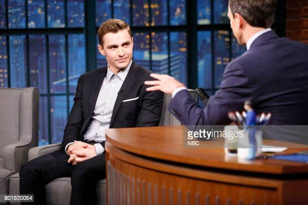 Actor Dave Franco during an interview with host Seth Meyers on June 26 2017