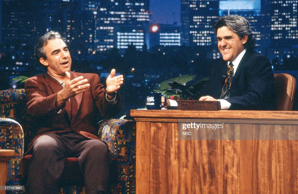 Actor Jay Thomas during an interview with host Jay Leno on October 5, 1994 --