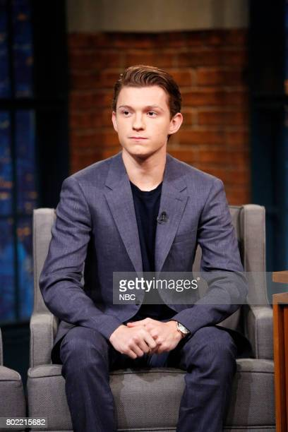 Actor Tom Holland during an interview on June 27 2017