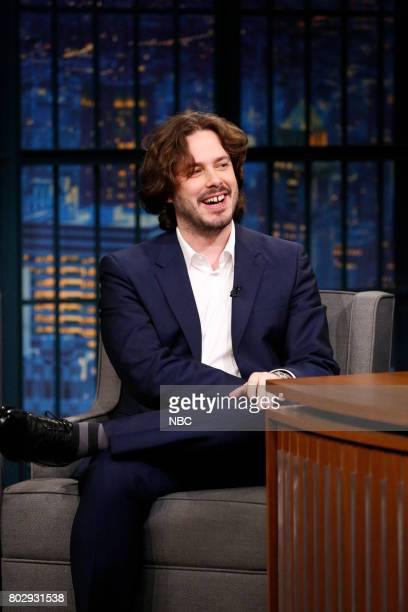 Director Edgar Wright during an interview on June 28 2017
