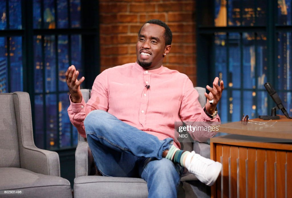 "NBC's ""Late Night With Seth Meyers"" With Guests Sean ""Diddy"" Combs, Hilary Duff, Edgar Wright"