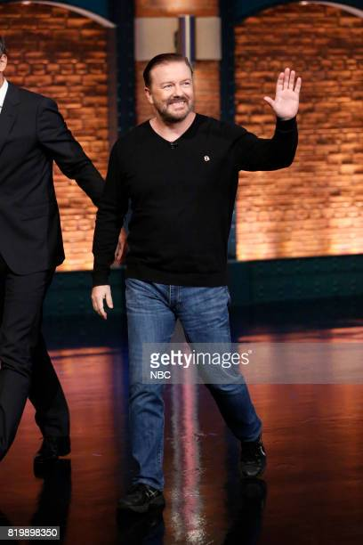 Actor/comedian Ricky Gervais arrives on July 19 2017