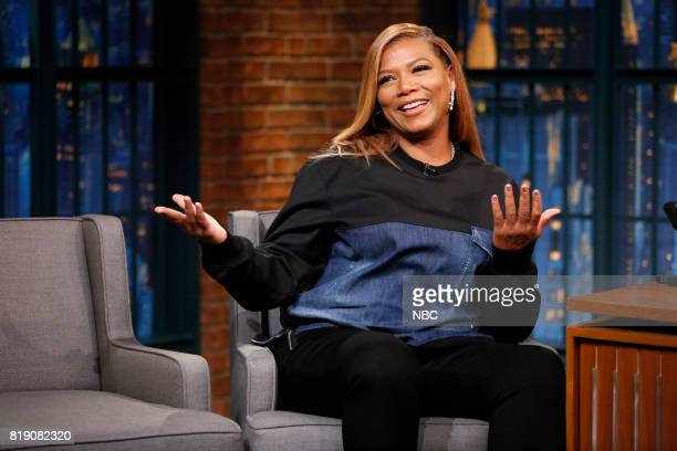 Actress Queen Latifah during an interview on July 19 2017