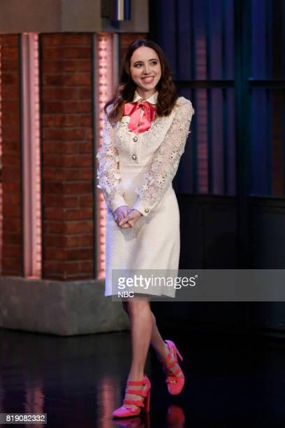 Actress Zoe Kazan arrives on July 19 2017