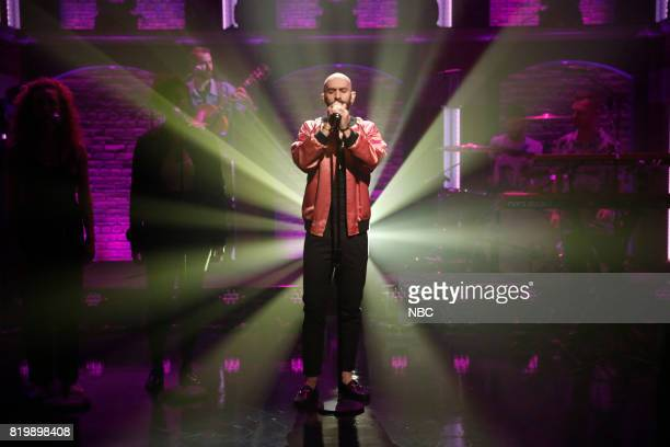 Sam Harris of musical guest X Ambassadors performs on July 19 2017
