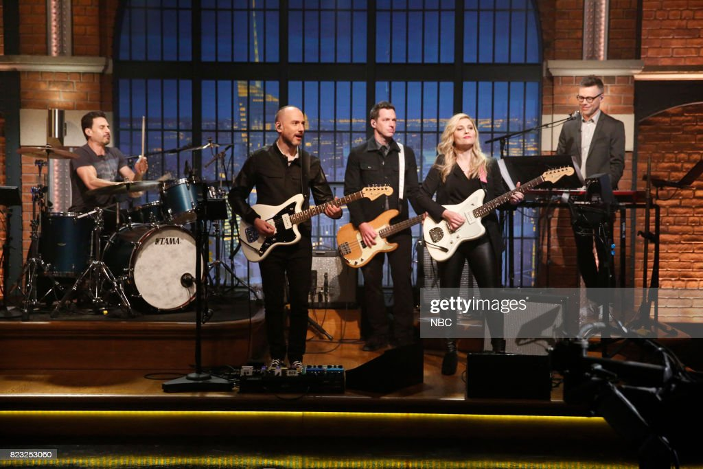 """Brad Wilk from """"Prophets of Rage"""" sit in with Seth Jabour, Syd Butler, Marnie Stern, Eli Janney of the 8G Band on July 26, 2017 --"""