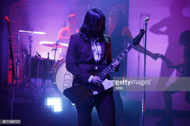 Nick Wheeler of musical guests The AllAmerican Rejects performs on August 7 2017