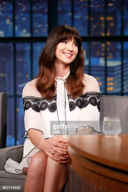 Actress Caitriona Balfe during an interview on September 14 2017