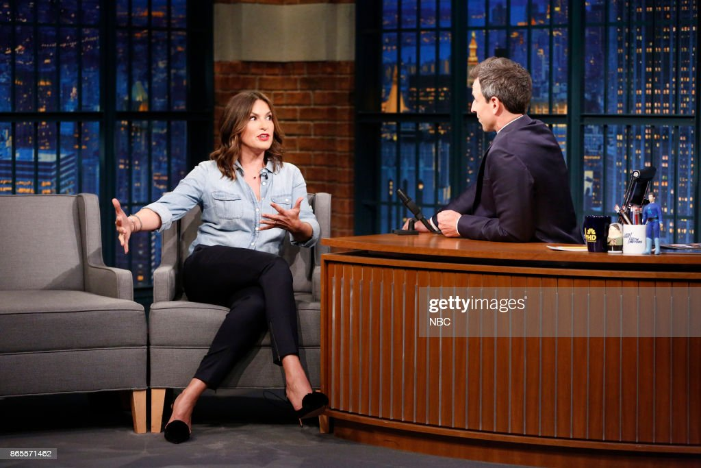 "NBC's ""Late Night With Seth Meyers"" With Guests Mariska Hargitay, John Cho, ZZ Ward Feat. Fantastic Negrito"