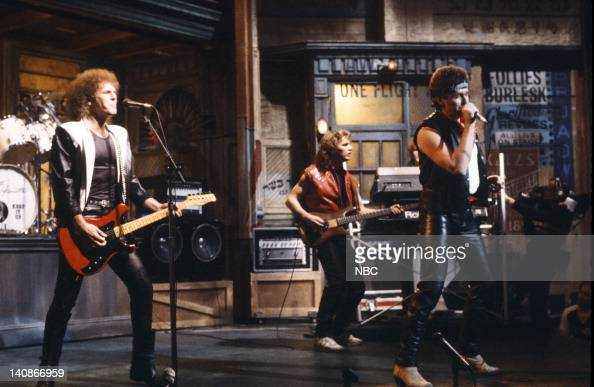 Musical guest Loverboy performs on November 19 1983