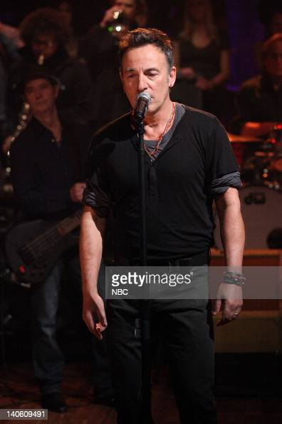 Bruce Springsteen and the E Street Band perform on March 2 2012