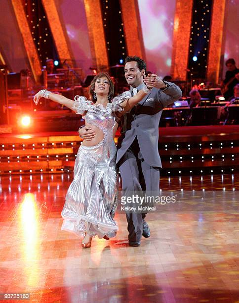 STARS 'Episode 609' During the semifinals of 'Dancing with the Stars' the remaining celebrities and professional dancers performed two randomly...