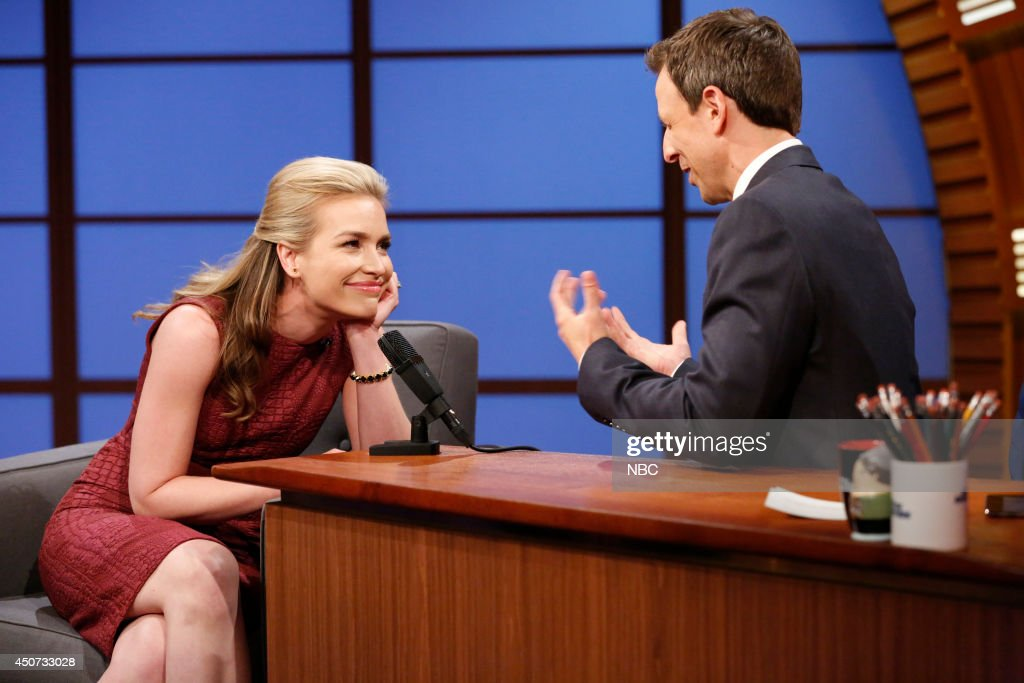"""NBC's """"Late Night With Seth Meyers"""" With Guests Wanda Sykes, Piper Perabo, Stromae"""