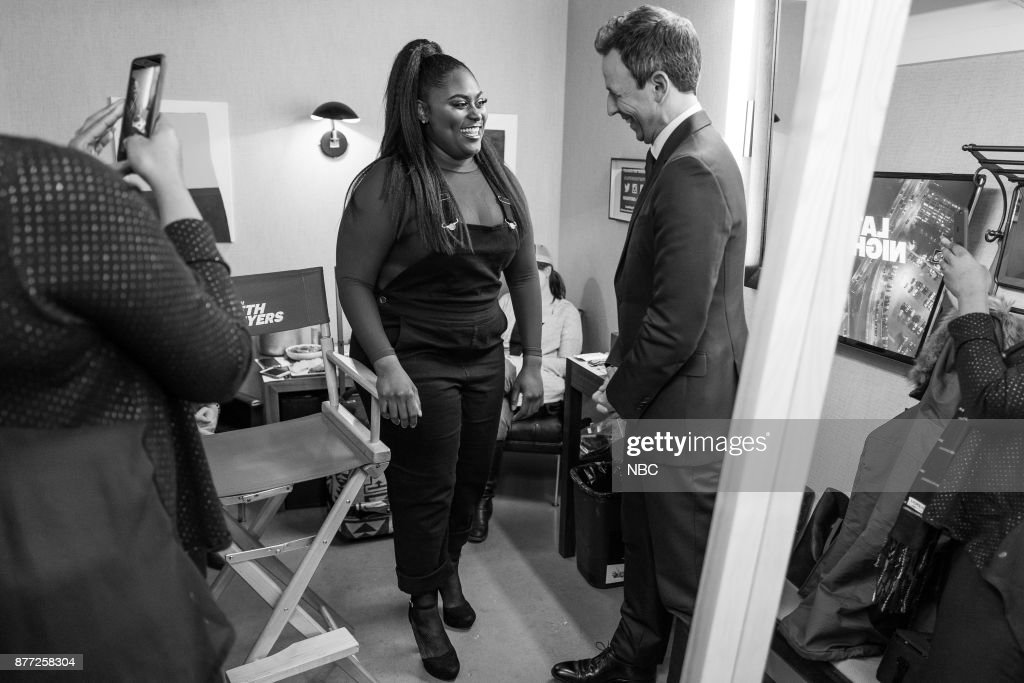"NBC's ""Late Night With Seth Meyers"" With Guests Jeff Daniels, Danielle Brooks, Daniel Ceasar"
