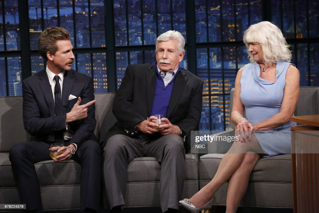 "NBC's ""Late Night With Seth Meyers"" With Guests Josh Meyers, Hilary Meyers & Larry Meyers"
