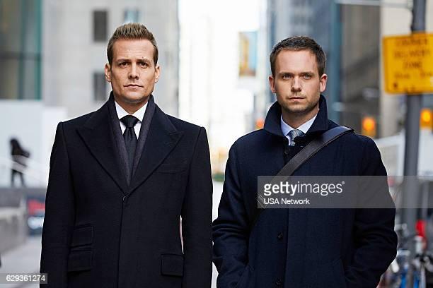 Gabriel Macht as Harvey Specter Patrick J Adams as Michael Ross