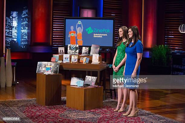 TANK 'Episode 624' On this week's 'Shark Tank' two women from New York City present their collectible products for celebrities' superfans two men...