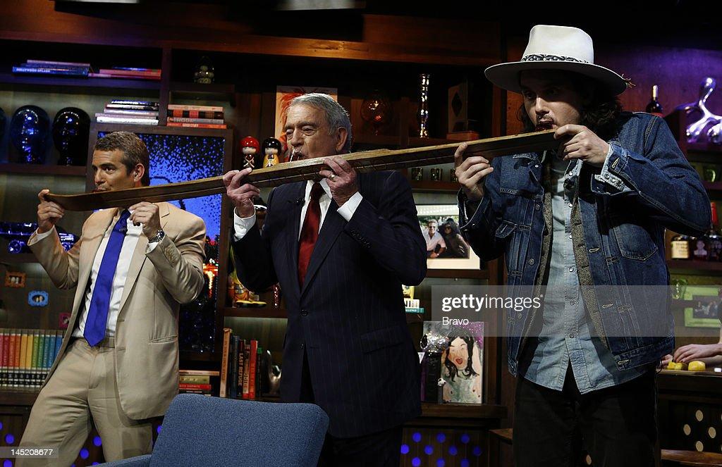 Andy Cohen, Dan Rather, John Mayer --