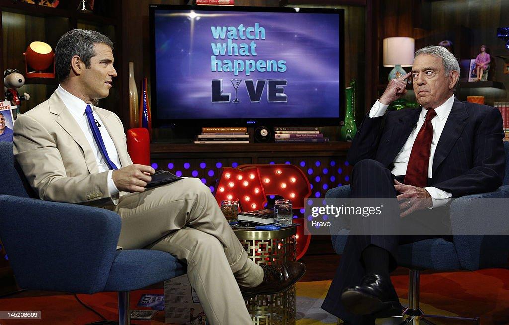 Andy Cohen, Dan Rather --