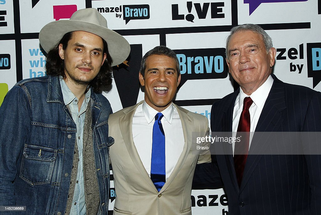John Mayer, Andy Cohen, Dan Rather --