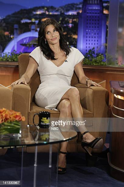 BRIEN Episode 69 Air Date Pictured Actress Courteney Cox during an interview on September 18 2009 Photo by Paul Drinkwater/NBCU Photo Bank