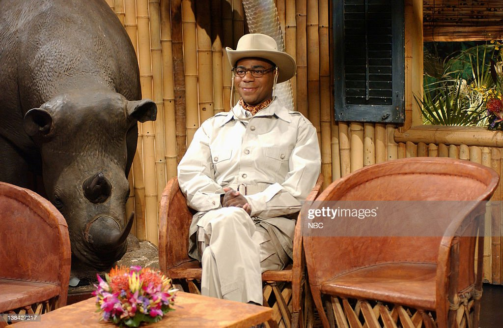 LIVE Episode 7 Air Date Pictured Tracy Morgan as Brian Fellows during the 'Brian Fellow's Safari Planet' skit on December 6 2008