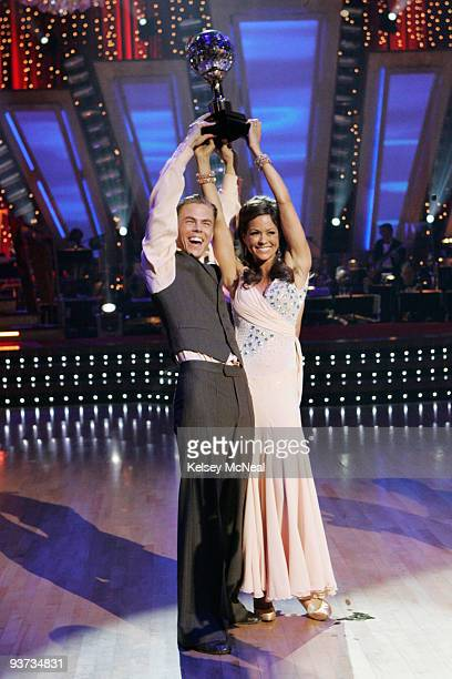 SHOW 'Episode 710A' After weeks of entertaining drama camaraderie and dazzling performances Brooke Burke and her professional partner Derek Hough...