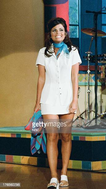 Actress Yasmine Bleeth arrives on July 18 1995