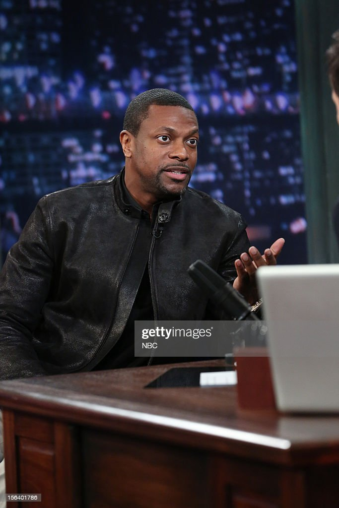 Chris Tucker during an interview on November 14, 2012 --
