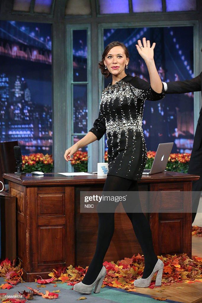 Rashida Jones arrives on November 22, 2012 --