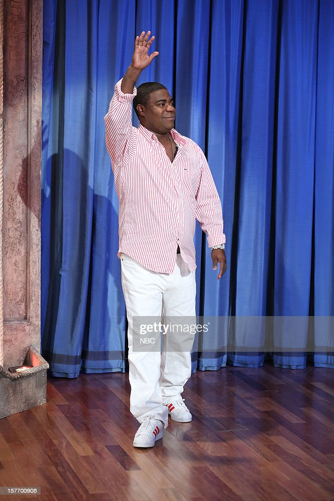 <a gi-track='captionPersonalityLinkClicked' href=/galleries/search?phrase=Tracy+Morgan&family=editorial&specificpeople=182428 ng-click='$event.stopPropagation()'>Tracy Morgan</a> arrives on December 5, 2012 --