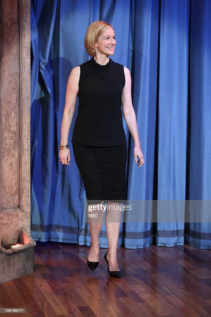 Laura Linney arrives on December 10, 2012 --