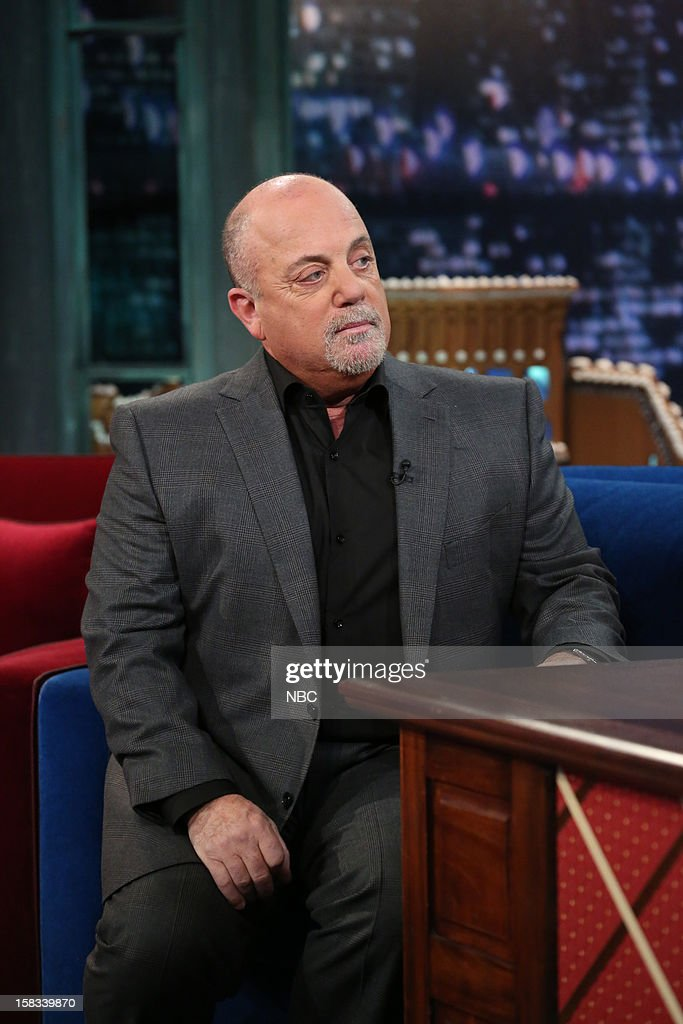 Billy Joel during an interview on December 13, 2012 --