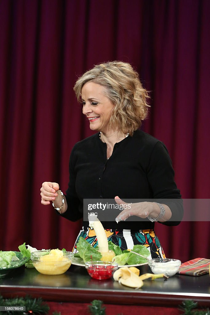 <a gi-track='captionPersonalityLinkClicked' href=/galleries/search?phrase=Amy+Sedaris&family=editorial&specificpeople=209343 ng-click='$event.stopPropagation()'>Amy Sedaris</a> during a skit on December 14, 2012 --