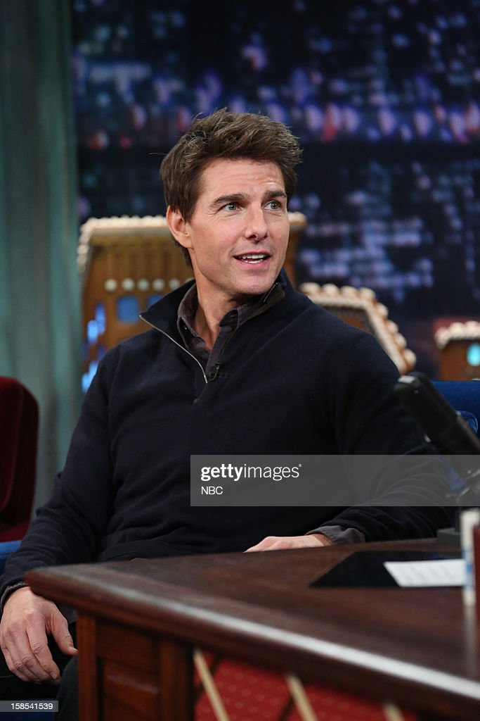 <a gi-track='captionPersonalityLinkClicked' href=/galleries/search?phrase=Tom+Cruise&family=editorial&specificpeople=156405 ng-click='$event.stopPropagation()'>Tom Cruise</a> during an interview on December 18, 2012 --