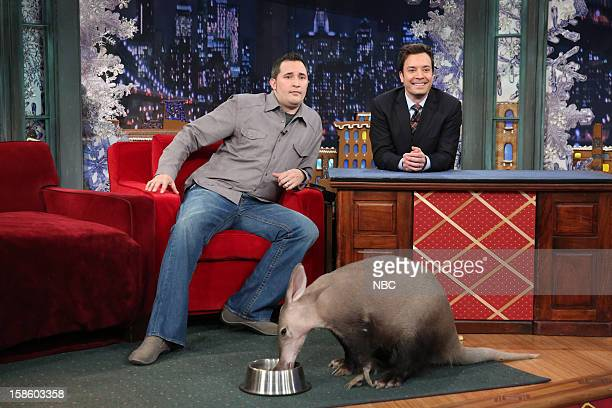Jeff Musial during an interview with host Jimmy Fallon on December 19 2012
